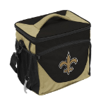 New Orleans Saints 24-Can Cooler w/ Officially Licensed Team Logo