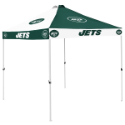 New York Tent w/ Jets Logo - 9 x 9 Checkerboard Canopy