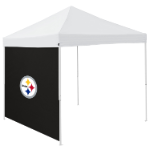 Pittsburgh Tent Side Panel w/ Steelers Logo - Logo Brand