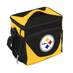 Pittsburgh Steelers 24-Can Cooler w/ Officially Licensed Team Logo