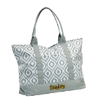Pittsburgh Steelers Ikat Tote w/ Officially Licensed Team Logo