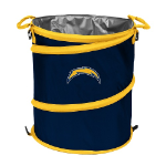 Los Angeles Chargers Collapsible 3-in-1 Trash Can/Cooler/Hamper