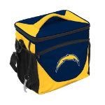 Los Angeles Chargers 24-Can Cooler w/ Officially Licensed Team Logo
