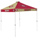 San Francisco Tent w/ 49ers Logo - 9 x 9 Checkerboard Canopy