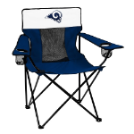 Los Angeles Rams Elite Canvas Chair w/ Officially Licensed Team Logo
