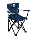 Los Angeles Rams Toddler Canvas Chair w/ Officially Licensed Team Logo