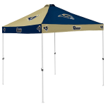 Los Angeles Tent w/ Rams Logo - 9 x 9 Checkerboard Canopy