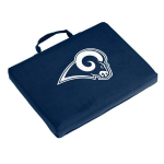 Los Angeles Rams Bleacher Cushion w/ Officially Licensed Team Logo