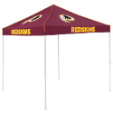 Washington Tent w/ Redskins Logo - 9 x 9 Solid Color Canopy