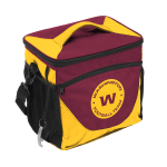Washington Redskins 24-Can Cooler w/ Officially Licensed Team Logo