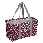 Washington Redskins Quatrefoil Picnic Caddy w/ Officially Licensed Logo