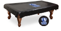 Eastern Illinois Pool Table Cover w/ Panthers Logo - Black Vinyl