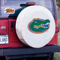 Florida Gators Tire Cover on White Vinyl