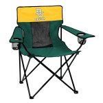 Baylor Bears Elite Canvas Chair w/ Officially Licensed Team Logo
