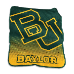 Baylor University Raschel Throw Blanket w/ Officially Licensed Team Logo