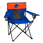Boise State Elite Canvas Chair w/ Officially Licensed Team Logo