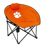 Clemson University Squad Chair w/ Officially Licensed Team Logo