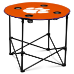 Clemson Tigers Round Tailgating Table
