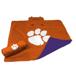 Clemson University All-Weather Blanket w/ Officially Licensed Team Logo