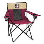 Florida State Elite Canvas Chair w/ Officially Licensed Team Logo