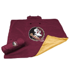 Florida State University All-Weather Blanket w/ Officially Licensed Team Logo