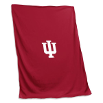 Indiana University Sweatshirt Blanket w/ Officially Licensed Team Logo