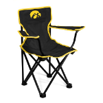 Iowa Hawkeyes Toddler Canvas Chair w/ Officially Licensed Team Logo