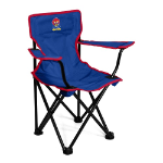 Kansas Jayhawks Toddler Canvas Chair w/ Officially Licensed Team Logo