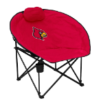 University of Louisville Squad Chair w/ Officially Licensed Team Logo
