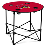 Louisville Cardinals Round Tailgating Table