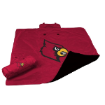 University of Louisville All-Weather Blanket w/ Officially Licensed Team Logo