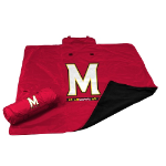 University of Maryland All-Weather Blanket w/ Officially Licensed Team Logo