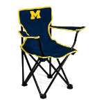 Michigan Wolverines Toddler Canvas Chair w/ Officially Licensed Team Logo