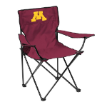 Minnesota Golden Gophers Quad Canvas Chair w/ Officially Licensed Team Logo