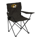 Missouri Tigers Quad Canvas Chair w/ Officially Licensed Team Logo