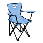 North Carolina Tar Heels Toddler Canvas Chair w/ Officially Licensed Team Logo