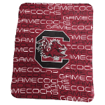 South Carolina University Classic Fleece Blanket w/ Officially Licensed Team Logo
