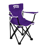 Texas Christian Toddler Canvas Chair w/ Officially Licensed Team Logo