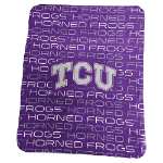 TCU Classic Fleece Blanket w/ Officially Licensed Team Logo