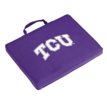 Texas Christian Seat Cushion w/ Horned Frogs Logo - Stadium