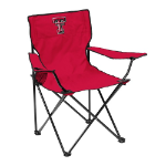 Texas Tech Quad Canvas Chair w/ Officially Licensed Team Logo