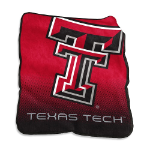 Texas Tech University Raschel Throw Blanket w/ Officially Licensed Team Logo