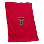 Texas Tech University Sweatshirt Blanket w/ Officially Licensed Team Logo