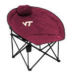 Virginia Tech University Squad Chair w/ Officially Licensed Team Logo