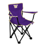 Washington Huskies Toddler Canvas Chair w/ Officially Licensed Team Logo