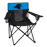 Carolina Panthers Elite Canvas Chair w/ Officially Licensed Team Logo