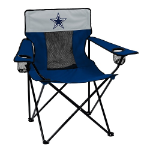 Dallas Cowboys Elite Canvas Chair w/ Officially Licensed Team Logo