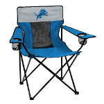 Detroit Lions Elite Canvas Chair w/ Officially Licensed Team Logo