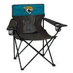Jacksonville Jaguars Elite Canvas Chair w/ Officially Licensed Team Logo