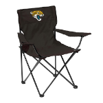 Jacksonville Jaguars Quad Canvas Chair w/ Officially Licensed Team Logo